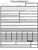 Form 07-6109 - Petition To Join Second Injury Fund And Claim For Reimbursement