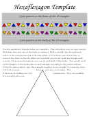 Hexaflexagon Template - Large