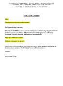 Declaration/pro Forma Invoice Template