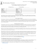 Annual Employee Performance Review Form