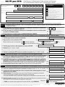 Formulario 940-pr - Planilla Para La Declaracion Federal Anual Del Patrono De La Contribucion Federal Para El Desempleo (futa) - 2016