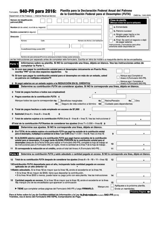 27 Form 940 Templates free to download in PDF, Word and Excel