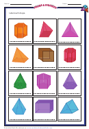 Prisms And Pyramids Chart (color)