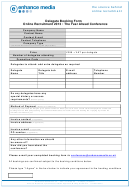 Delegate Booking Form