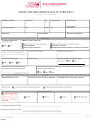 Jsu Request For Family Medical Leave Act Form (fmla)