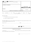 Order For Transfer Of Lodged Will