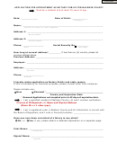 Application For Appointment As Notary Public For Baldwin County