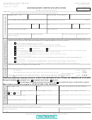 Form F-05291 - Wisconsin Birth Certificate Application Form