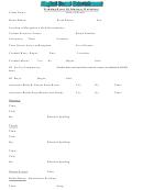 Wedding Event Dj Itinerary Worksheet