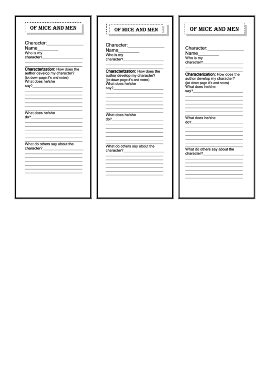 Bookmark Template Printable pdf