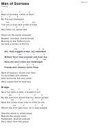 Man Of Sorrows Hillsong (Key Of F) Chord Chart printable pdf