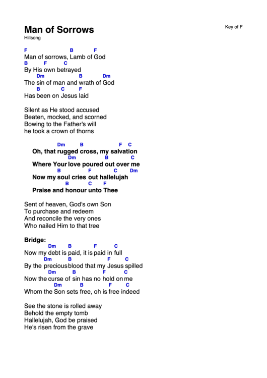 worthy is the lamb hillsong chords pdf