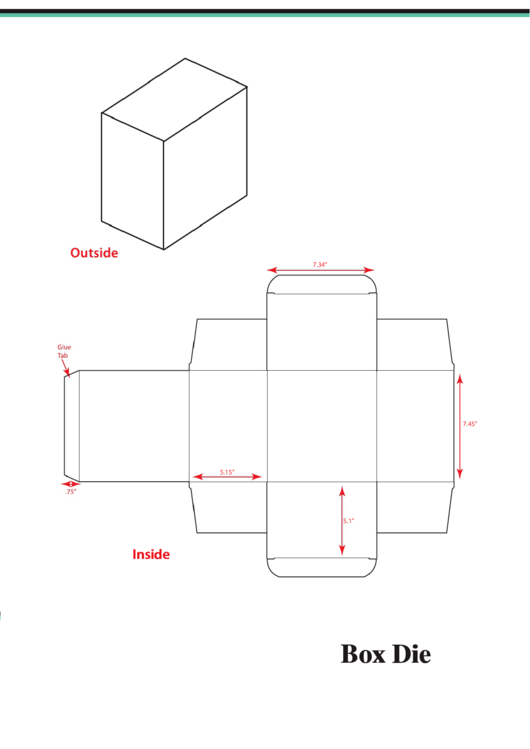 Rectangle Box Template