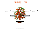 3 Generation Family Tree Template