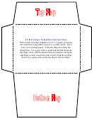 A2 Envelope Template (color)