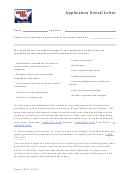 Application Denial Letter Template