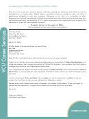 Accepting An Offer/declining An Offer Letter