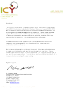 Sponsorship Letter And Request