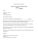 Sample Grant Denial Letter Template
