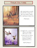Sample Thank You Notes