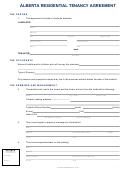 Alberta Residential Tenancy Agreement