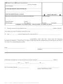 Consent To Adoption Form - Child Over 12 Years Of Age