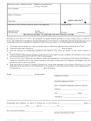 Form Ldf 229 - Notice Of Intent To Pursue Collection By Victim