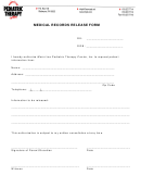 Pediatric Therapy Medical Records Release Form