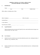 Criminal Justice Act Panel Application