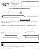 Statement Of Resignation Of Registered Agent - Wyoming Secretary Of State