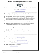 Foreign Profit Corporation Application For Certificate Of Authority - Wyoming Secretary Of State