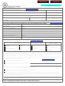 Form Dor-2827 - Missouri Department Of Revenue Power Of Attorney