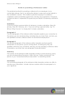 Sample Completed Reference Letter Template With Instructions