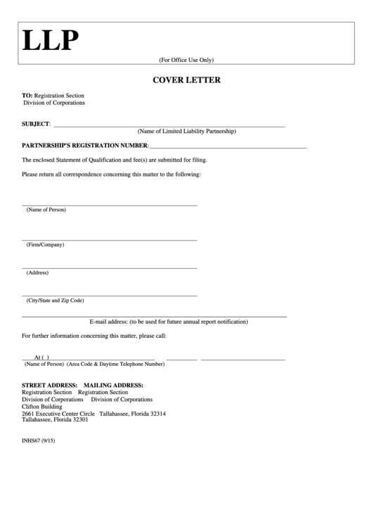 Fillable Form Inhs67
