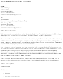 Sample Medical Office Assistant Cover Letter