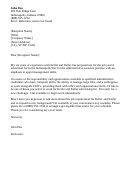 Office Assistant Cover Letter 4