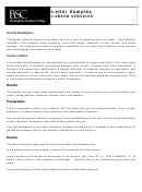 Sample Entry Level Cover Letter Pack