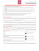 Transcript Request Form - District Of Columbia Education Licensure Commission