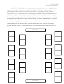 Seating Chart Rationale