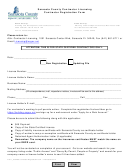 Sarasota County Contractor Licensing Contractor Registration Form