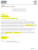 Authorization Cover Letter Template