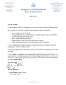 Congress Resignation Letter Sample
