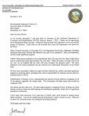 Secretary Of State Resignation Letter Sample
