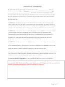 State Of California Prenuptial Agreement Template