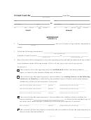 Affidavit Dom Rel 73