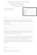 7 Day Notice Statutory Declaration