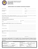 Mobilehome Tax Clearance Certificate Request