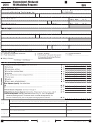 California Form 589 - Nonresident Reduced Withholding Request - 2015