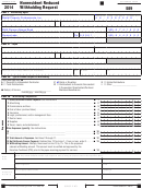California Form 589 - Nonresident Reduced Withholding Request - 2014