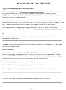 Medical Consent / Release Form
